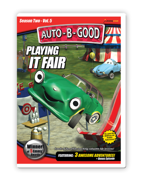Playing it Fair DVD cover