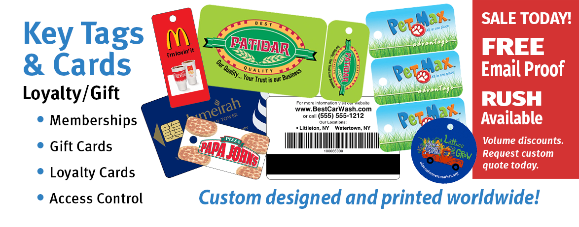 Plastic Cards, Gift Cards, Loyalty Cards, Card Printers