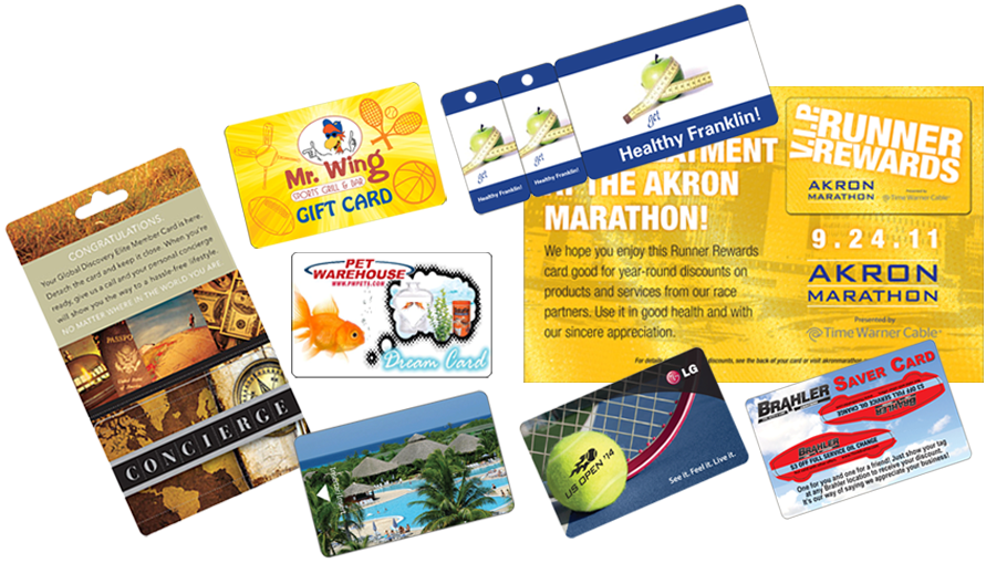 Plastic Cards with Custom Printing