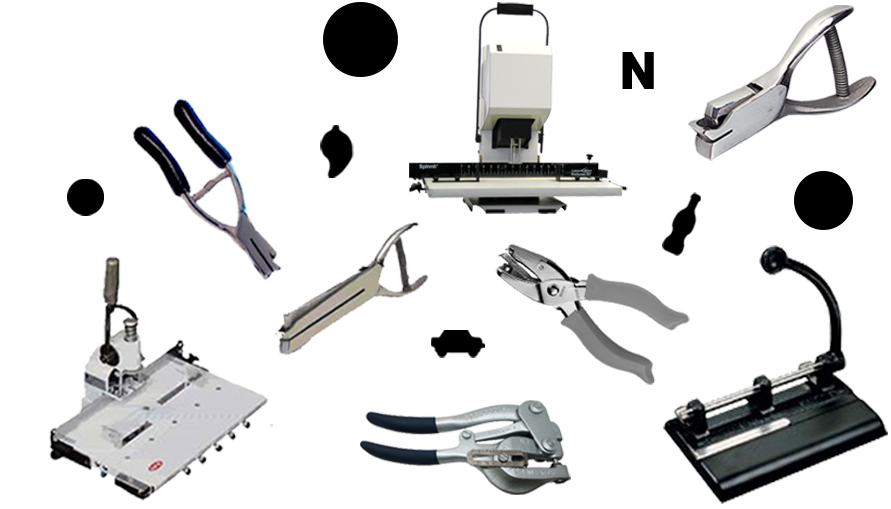 Hole Punches, Custom Punches with Shapes