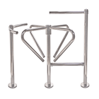 Exit Turnstile,1 Direction with Curved Arms, Waist High (TG-ALV-DOG1)