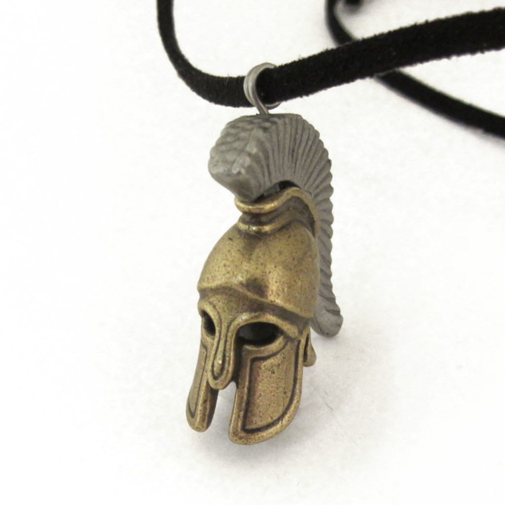Greek Hoplite Helmet necklace