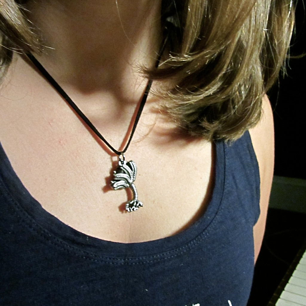 crinoid necklace