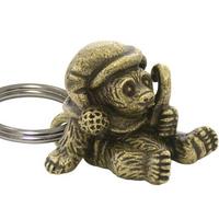 Holiday Bear Keychain