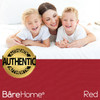 Ultra-Soft Microfiber Twin XL Duvet Cover Set - Red