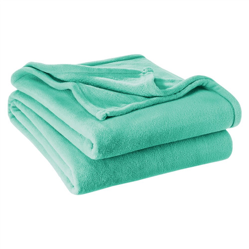 Microplush Super Soft Blanket Twin / Twin XL Extra Long - Turquoise