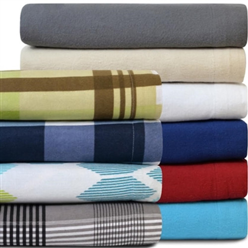 100% Cotton Flannel Sheet Set - Twin XL