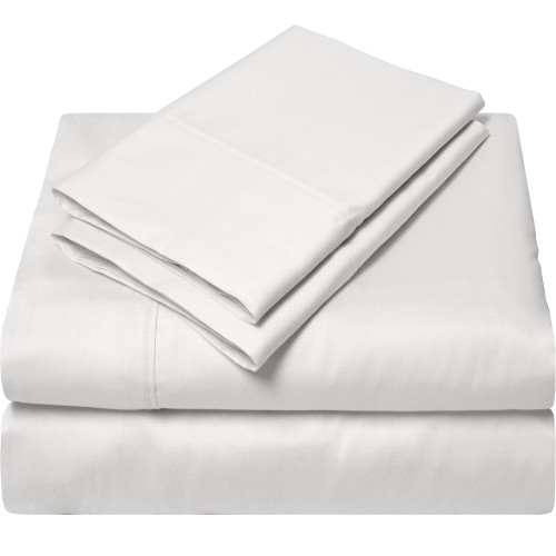 100% Egyptian Cotton 300 Thread Count Sheet Set Twin XL - Off White