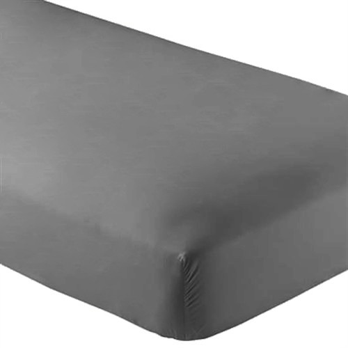 Fitted Microfiber Sheet Twin XL - Grey