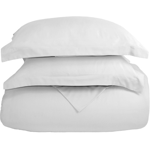 Ultra-Soft Microfiber Twin XL Duvet Cover Set - White