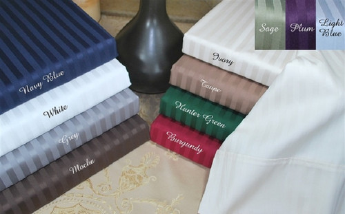 Stripe 400TC Egyptian Cotton Sheet Sets