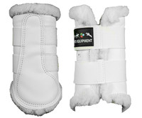 COMFORT BRUSHING BOOTS - White -by HKM RRP $69.95