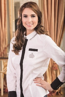 Competition Blouse-SILVER CROWN-by 'G' by HKM-4430 RRP $109.95 Now $79.95