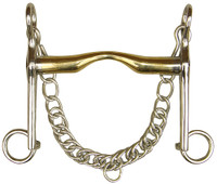 Weymouth GB with low port gold brass 18mm by Harry's Horse - 41203323 RRP $79.95