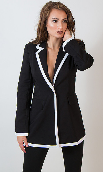 Long Blazer/Blazer  Dress - Tall