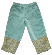 Confetti velour pants
