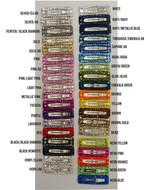 Bari Lynn Crystal hair clips in all colors.