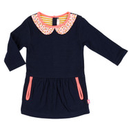 Billieblush navy dress.