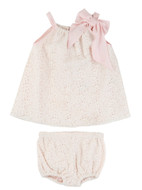 Billieblush Eyelet Baby Dress & Bloomers