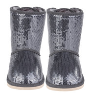 Billieblush sequined boots.