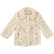 Billieblush faux fur coat.