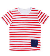 Billybandit Striped Tee v25016-98g
