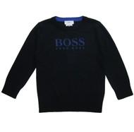 BOSS Navy Knit Sweater
