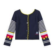 Catimini reversible sweater/cardigan.