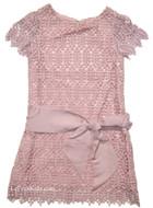 Charabia Pink Lace Dress