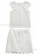 Charabia Chiara Ivory 2pc.Set