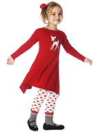Deux Par Deux Dress mt95red