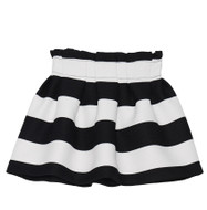 Deux par Deux girls striped skirt.