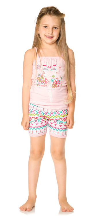 Deux Par Deux Girls Pajama