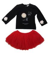 Eliane et Lena Top & Skirt Set