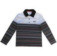 BOSS kids striped polo.