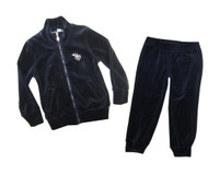 I Do Velour Navy Set