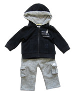 IKKS boys navy jogging set.