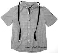 IKKS Shirt with Suspenders
