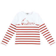 Junior Gaultier Top 5a10099red