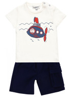 Junior Gaultier Tee & Shorts