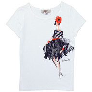 Junior Gaultier Girls Tee