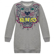 Kenzo grey tiger dress.