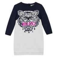 Kenzo knitted tiger dress.