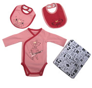 Little Marc Jacobs Body & Bibs in tin box w98035