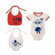 Little Marc Jacobs Body & Bibs w98027