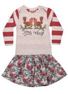 Little Wings Skirt & Tee