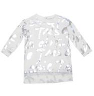 Microbe Printed Tunic