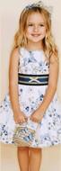 Monnalisa Butterfly Dress