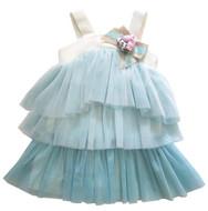 Monnalisa Tulle Dress 395906