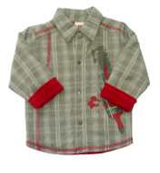 3 Pommes fleece lined Shirt